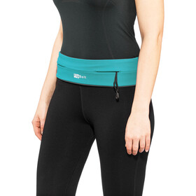 FlipBelt Zipper Fitness Belt, aqua